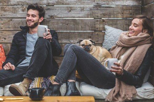 hombre y mujer felicidad