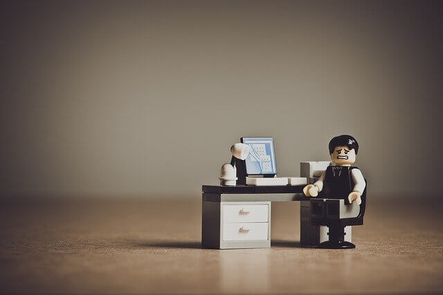 Trabajador con depresion